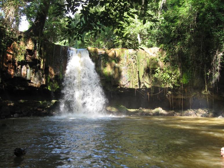 Sen Monorom, Cambodia Waterfall