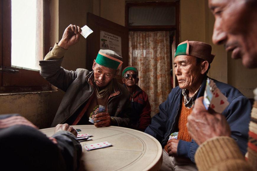 Village+men+playing+card+games+in+Nako